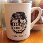 Coffee at the Maple Counter