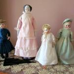 Vintage dolls, Kirkman House Museum