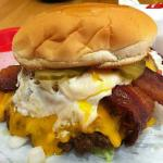 Bacon Breakfast Burger