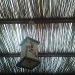 el techo del living.