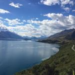 Road from Queenstown to Little Paradise