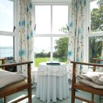 A seaview room at Milltown House, Dingle