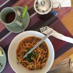 Kao Soi breakfast noodles!