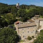 Pieve San Quirico castle (main villa - 15 beds) and the Tower (apartments)
