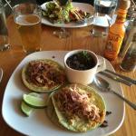 Tinga Tacos with Chihuahua cheese