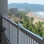 The beach view from - The Palms unit 901