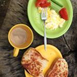 breakfast in the woods