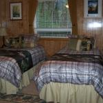 Woodland Room set-up with two twin beds