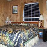 Woodland Room set-up with king size bed