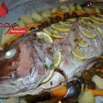 Peshk me perime ne furre