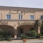 La facade de l'hotel