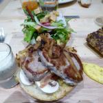 Le hambuguer du dimanche soir