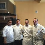 The Chefs of Le Soleil