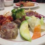 Pepper Chicken, Sea Food Dumpling Steamed Vegetables
