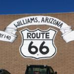 can't miss the fact that you are on 'route 66' ...love it!