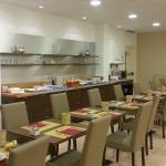 Salón de desayuno.  Villa delle Rose