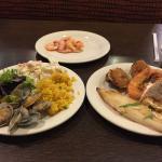 I really enjoyed the sea food
