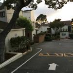 Lobos Lodge - Parking lot side