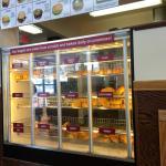 Bagels on display