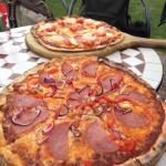 Delicious pizzas!!
