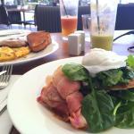 Breakfast. Succulent.