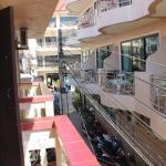 Вид с балкона налево