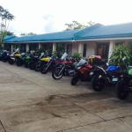 Jotays Resort big parking space and can accomodate a 100 bigbikes!!!