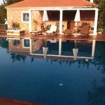 the pool at metohi georgila