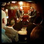 Harry Connick's Jnr's sax boy