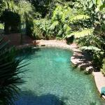 Sacred Mountain Solar Heated Pool with top Spa Pool