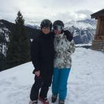 Skiing fun and fantastic scenery