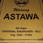 Photo de Warung Astawa