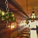 The dining room, a beautiful setting!