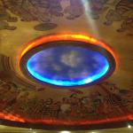 very beautiful ceiling decor and painting !! we love looking up sometime !