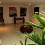 Área externa dos apartamentos standard