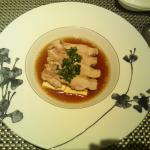 鶏肉と豆腐の柔らか蒸