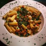 Come in to try our weekly specials! Zitti pasta with mussels, scallops & kale featured here!