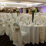A photo from our fantastic wedding! Beautiful ballroom,delicious buffet and reasonably priced.