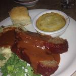 Ted's bison meat loaf and more