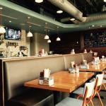 Inside restaurant facing bar