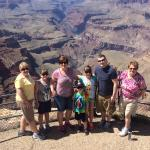 The 7 of us had a wonderful day visiting Sedona & the Grand Canyon! Great memories!