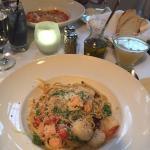 Seafood Fettucini special