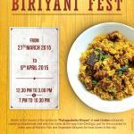 Biriyani Feast at East Indies Restaurant