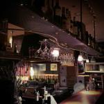 Una part de l'interior de La Pizza Del Pont.