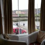 The Bay Room (double) overlooking the Inner Harbour, Aberaeron