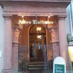 Eingang zum Restaurant Altes Rathaus