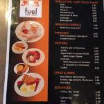 fuel menu March 2015