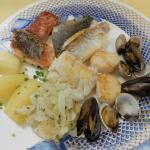 Le panaché de poissons de mer à la plancha