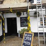 Old Inn - Thatching in Progress!