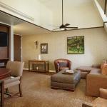 The Emily Morgan Hotel Living Area